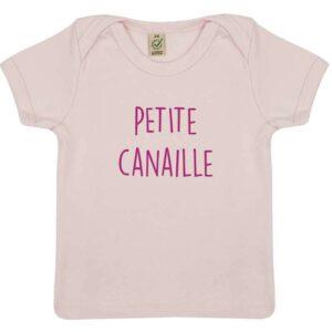 Tee-shirt Bébé Petite Canaille