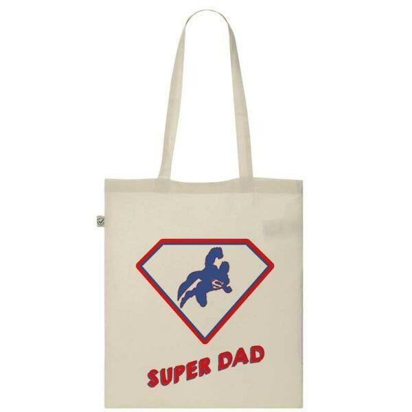 Tote Bag Super Dad