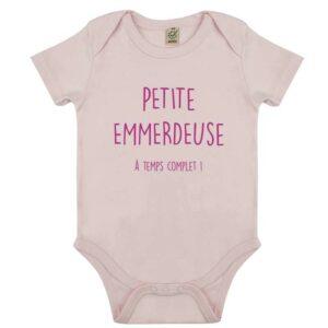 Body Petite Emmerdeuse - Fille