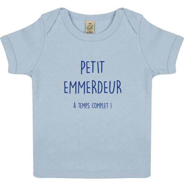 Tee-shirt Bébé Petit Emmerdeur