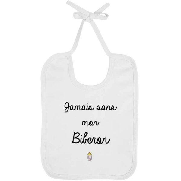 Bavoir Jamais Biberon - Fille