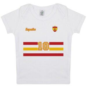Tee-shirt Bébé foot Espagne