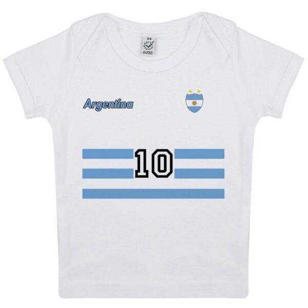 Tee-shirt Bébé foot Argentine