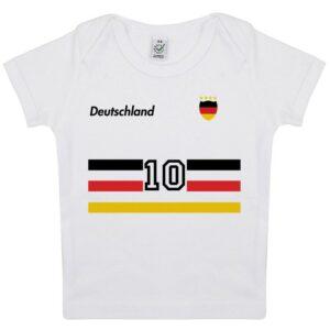 Tee-shirt Bébé foot Allemagne