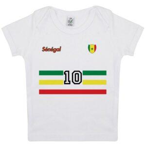 Tee-shirt Bébé foot Sénégal
