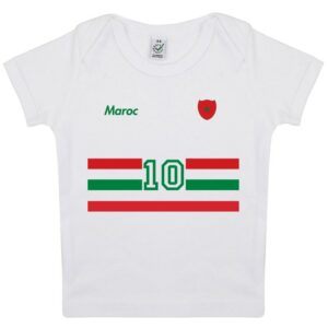 Tee-shirt Bébé foot Maroc