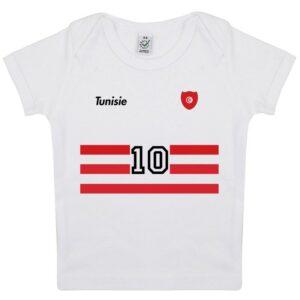 Tee-shirt Bébé foot Tunisie