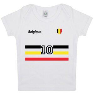 Tee-shirt Bébé foot Belgique