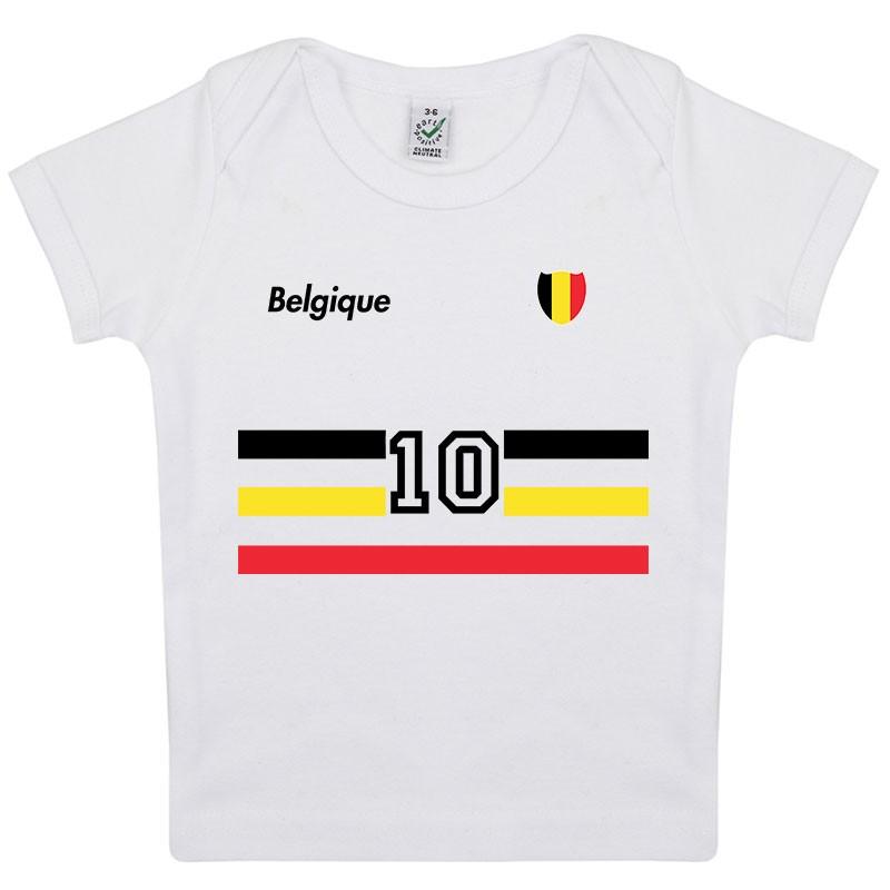 Garçons à manches courtes angleterre logo t-shirt new kids baby blanc football tops tee