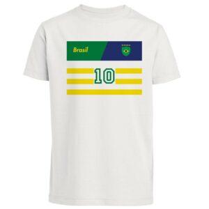 Tee-shirt Foot Enfant Brésil