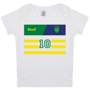 Tee-shirt Bébé foot Brésil
