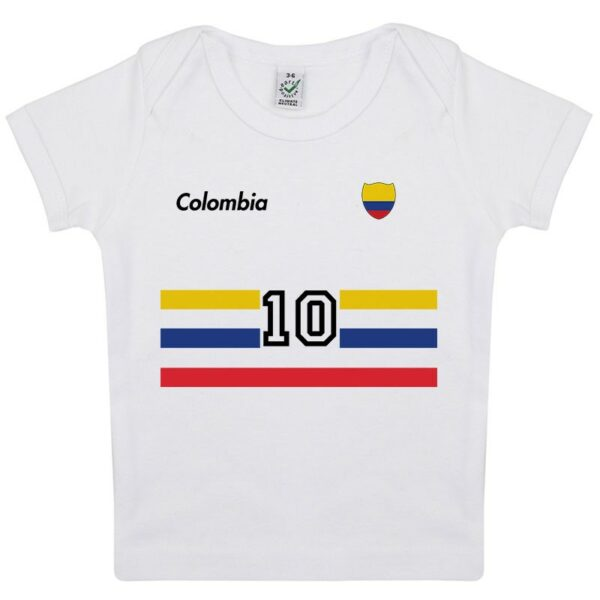 Tee-shirt Bébé foot Colombie