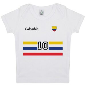 Tee-shirt Bébé foot Colombie