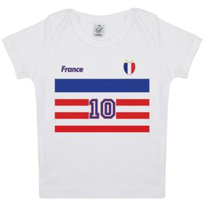 Tee-shirt Bébé foot France