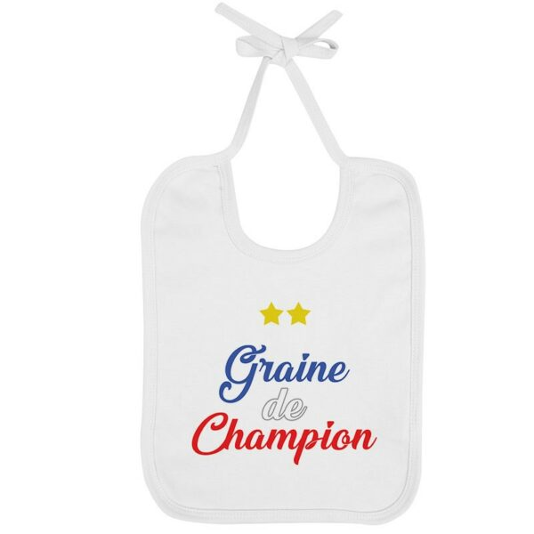 Bavoir Graine de Champion