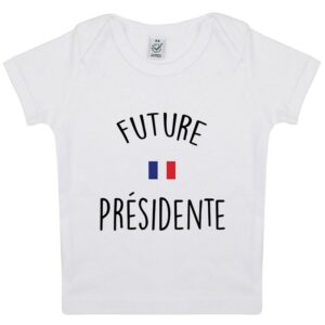 Tee-shirt Bebe Future Presidente