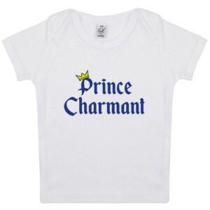 Tee-shirt Bebe Prince Charmant