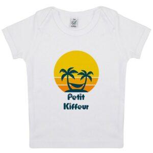 Tee-shirt Bébé Petit Kiffeur
