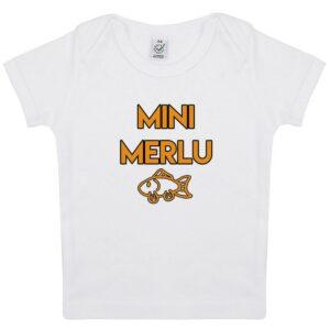 Tee-shirt Bébé Mini Merlu