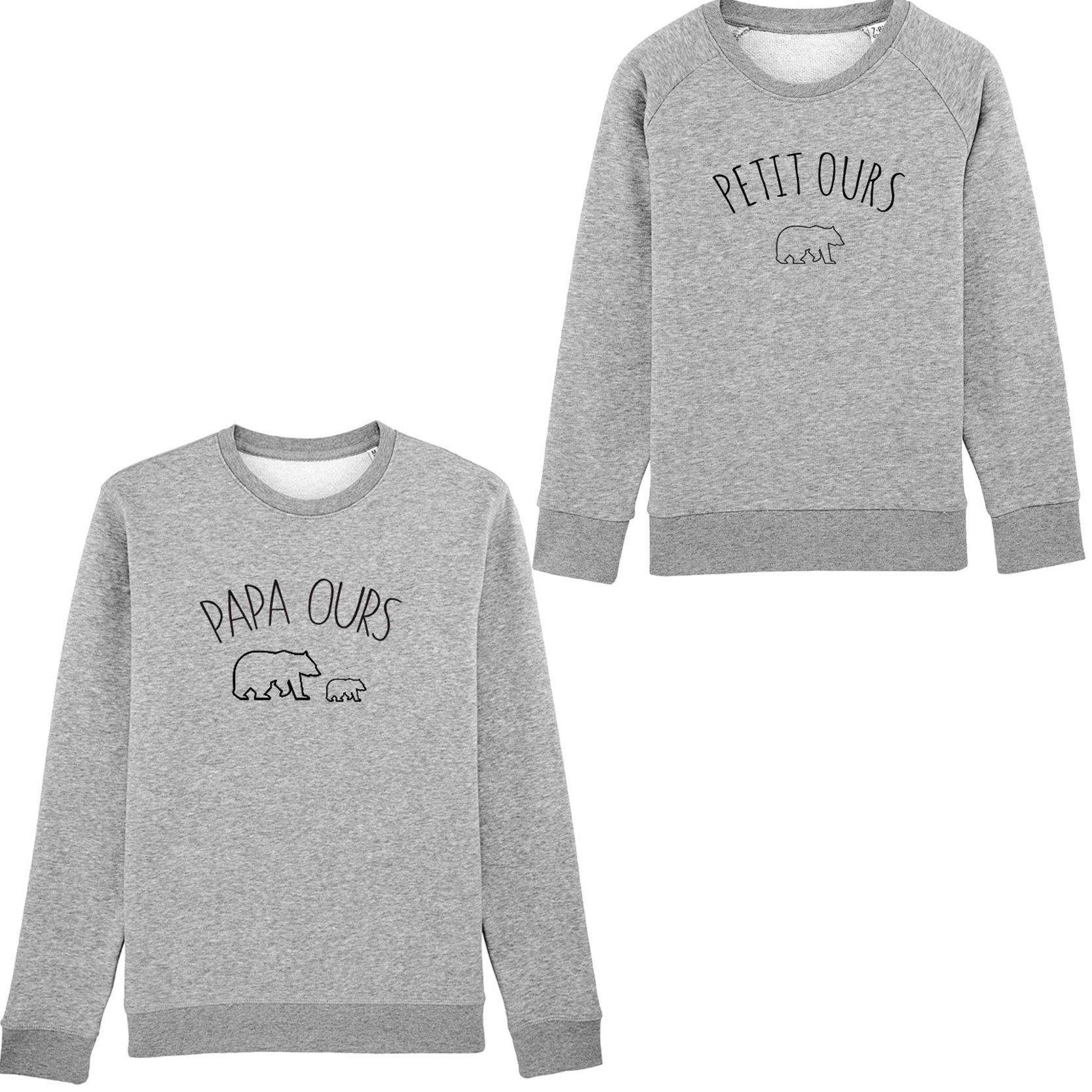 Pack Sweats Papa Ours x 1 petit ours