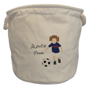 sac à jouets France fille chatain