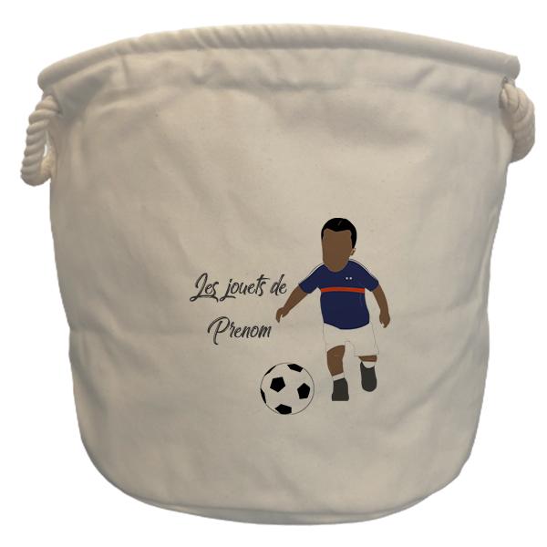 sac à jouets France garçon noir