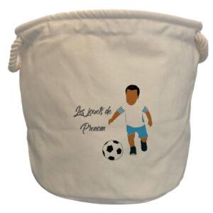 sac à jouets garçon Marseille blanc metisse