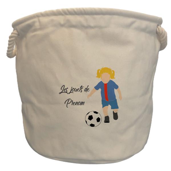 sac à jouets paris fille blonde