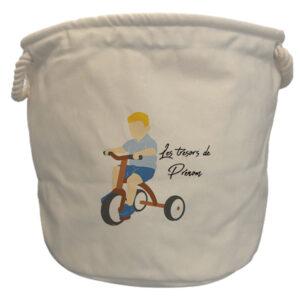 sacs à jouets tricycle garçon blond